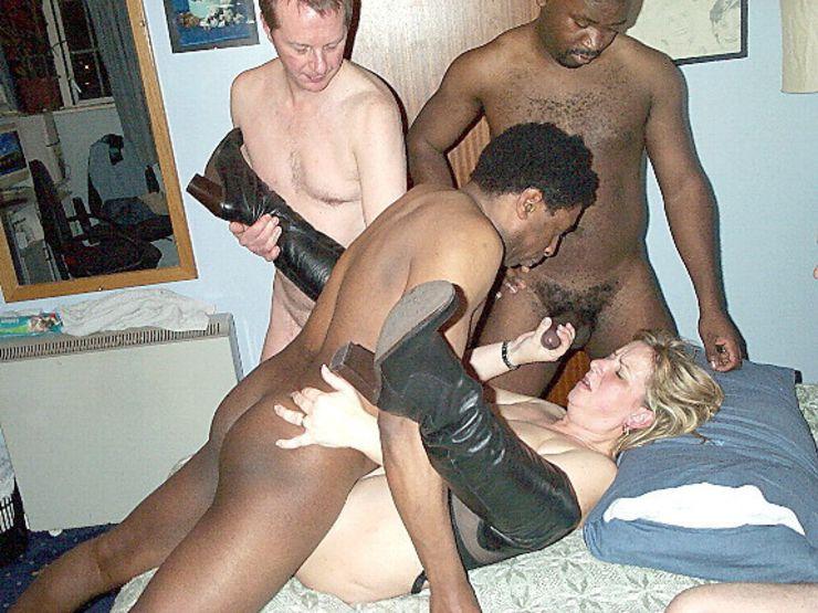 Interracial Dp Wife Orgy