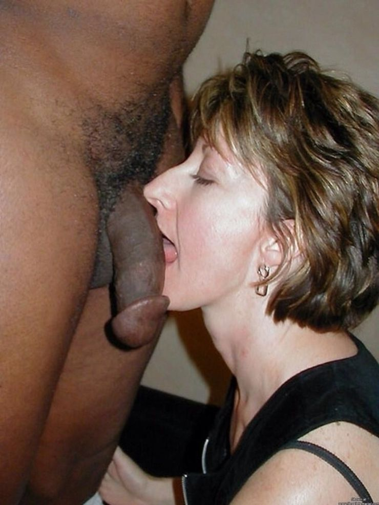 Amateur Sucking Big Black Cock